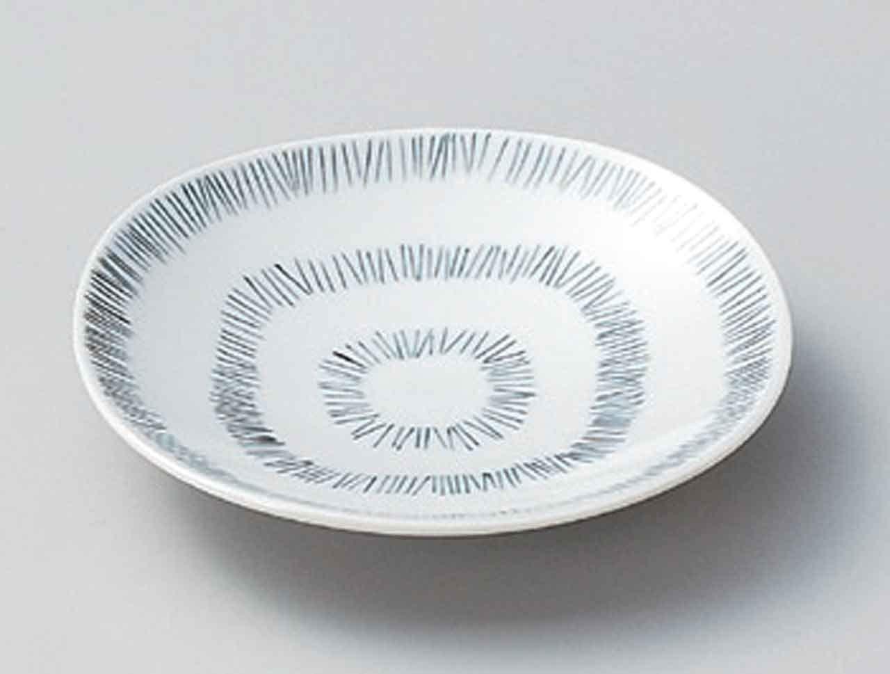 Tanpopo 5.1inch Set of 2 Medium Plates porcelain Made in Japan