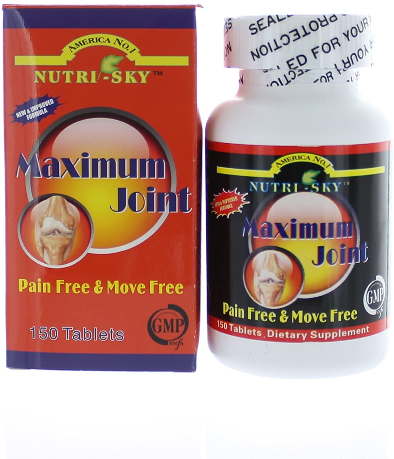 Nutri-sky Maximum Joint Joint Free Move Free 150 Tablets