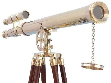 Floor Standing Brass Griffith Astro Telescope, 55