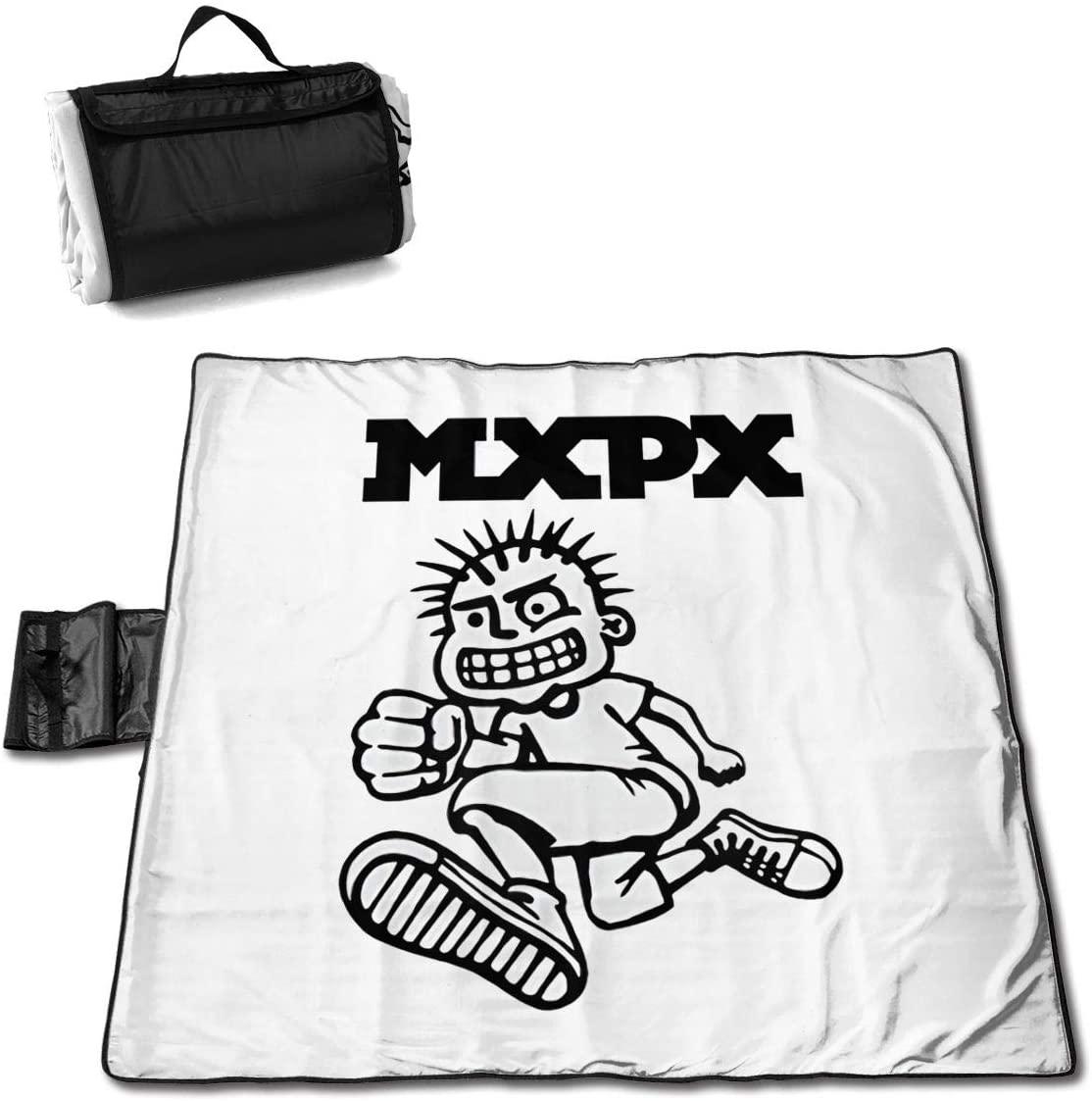 Htu Mx-Px Funny Portable Printed Picnic Blanket Waterproof 59x57(in)