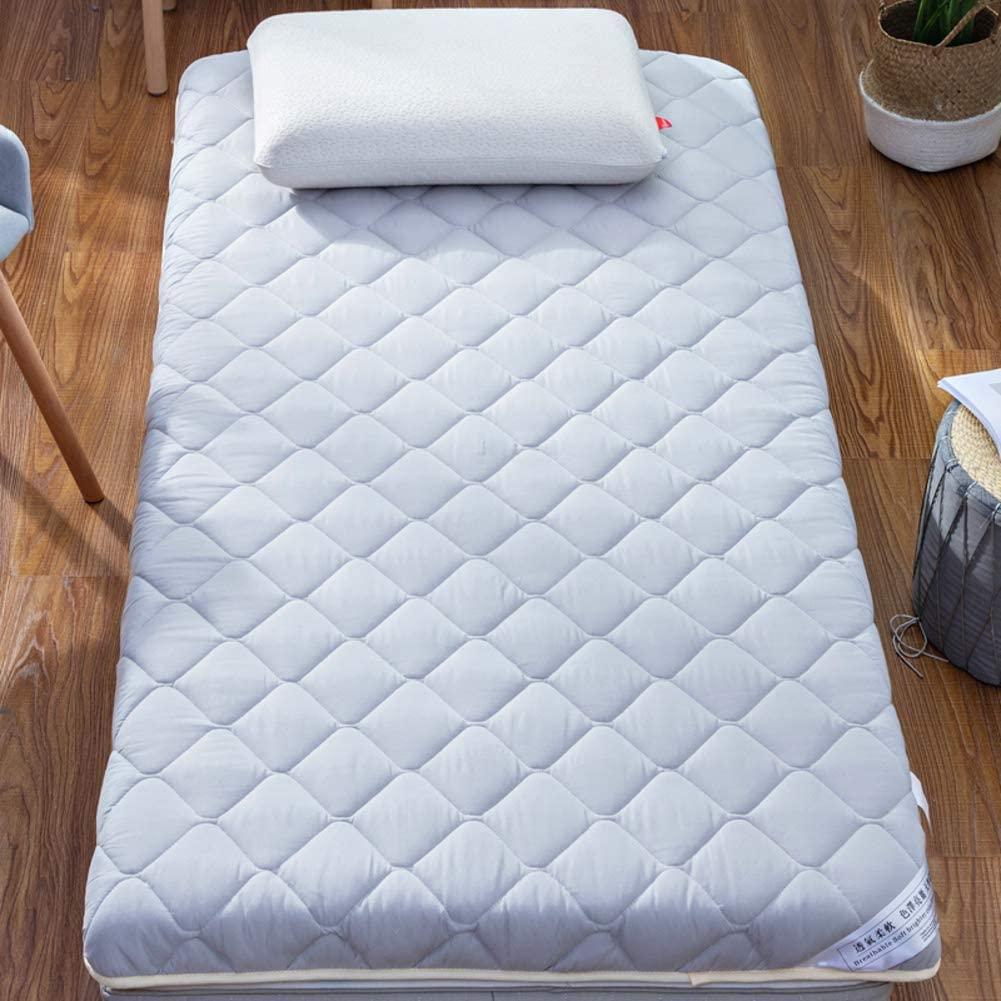 AMYDREAMSTORE Thicken Tatami Floor Mattress,Breathable Futon Tatami Mattress Pad Sleeping Breathable Floor Mat Portable Student Dormitory Mattress-b 120x190cm(47x75inch)