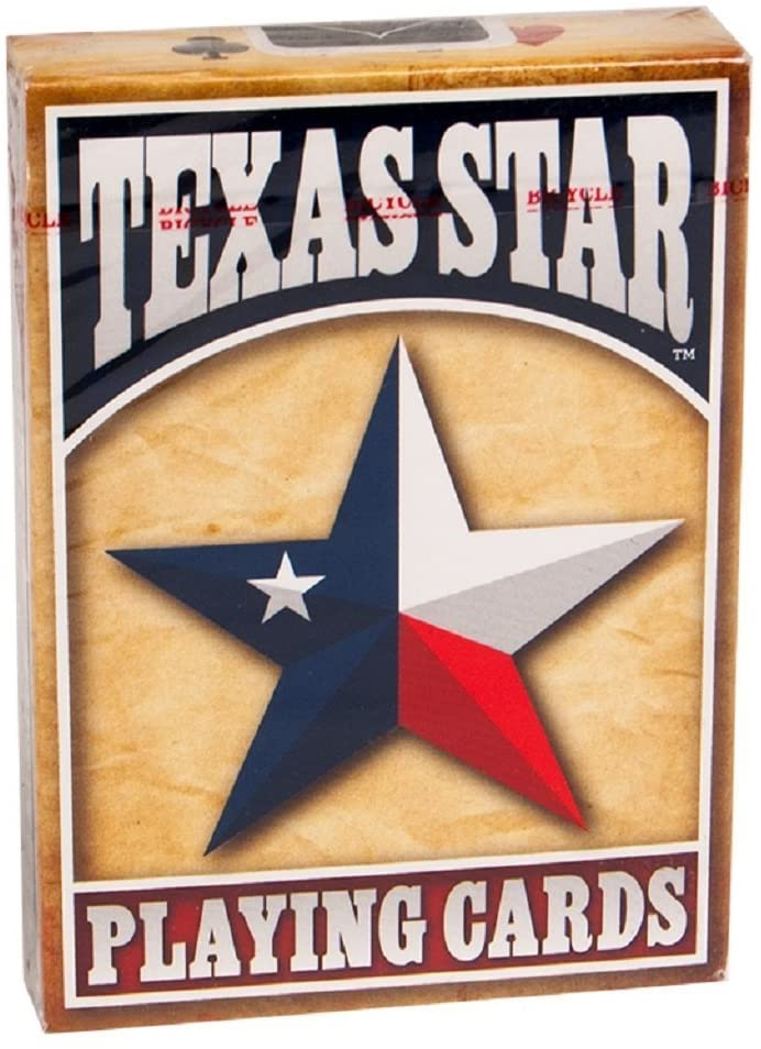 Bicycle Texas Star Deck Texas Star Playing Cards 2-Pack