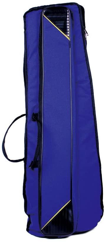 Entweg Alto Trombone Bag,600D Water-resistant Trombone Gig Bag Oxford Cloth Backpack Adjustable Shoulder Straps Pocket 5mm Cotton Padded for Alto/Tenor Trombone