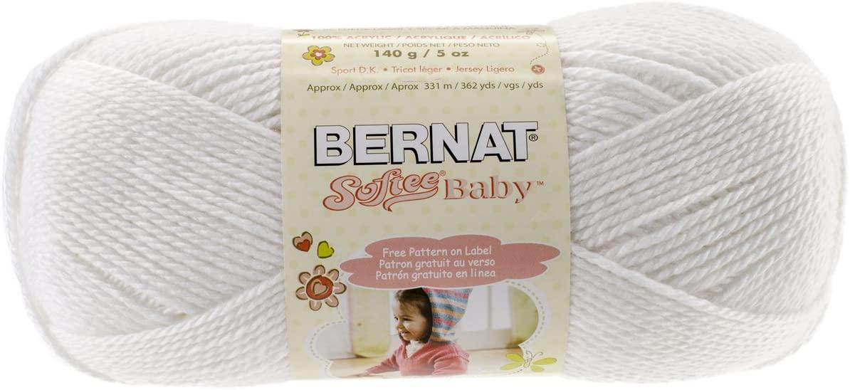 Bernat Softee Baby Solid Yarn-White