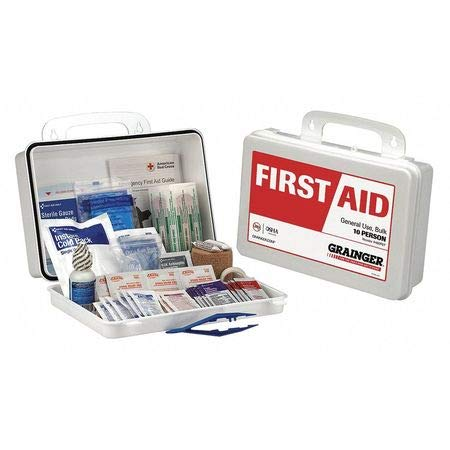 First Aid Kit, Plastic Case, Family, 10 Person