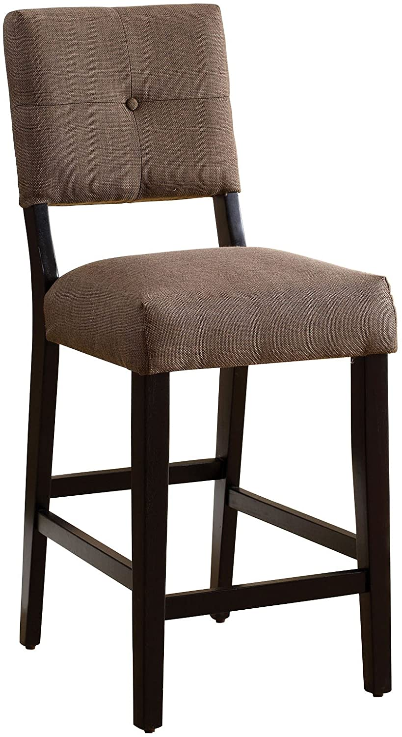 Ballard Espresso Counter Dining Chair (set of 2)