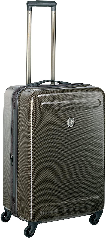Victorinox Etherius Illusion Hardside Expandable Spinner Luggage, Bronze, Checked-Medium (26