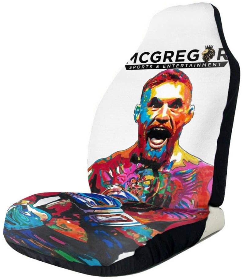 N/C Conor McGregor Game Polyester Car Seat Covers