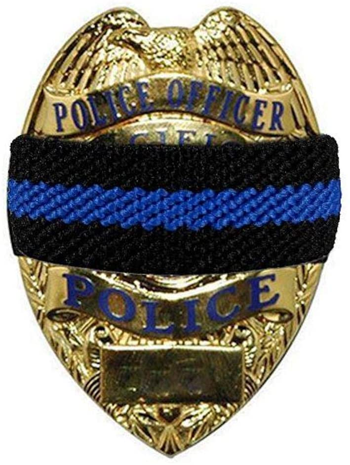 Thin Blue Line Mourning Band 6-Pack (6)
