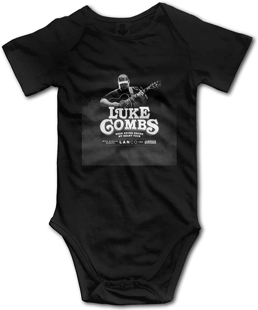 AP.Room Luke Combs Small Child Unisex Cotton Baby Underwear Short Sleeve