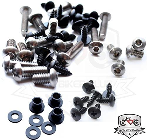 Ducati 748/916 1993-2003 Motorcycle Fairing Bolt Kit, Screws, Bolts, Fasteners 93 94 95 96 97-01 02 03