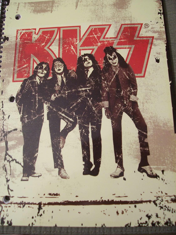 Kiss Spiral Notebook (70 Sheets)
