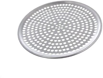 Browne Foodservice 575350 Thermalloy Aluminum Perforated Pizza Pan, 10-Inch