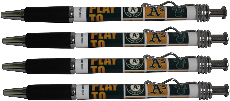 Oakland Athletics Jazzy Pen 4pk
