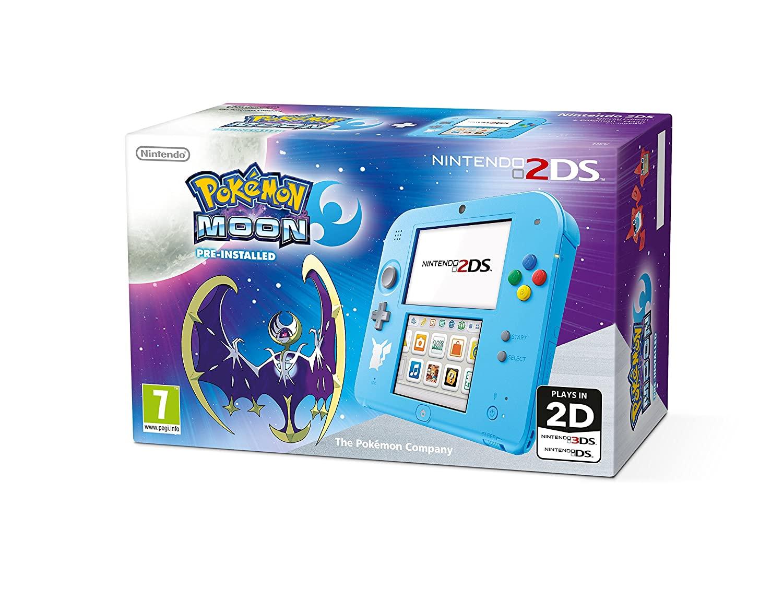 Nintendo 2DS 欧州版 本体 ポケモン ムーン スペシャルエディション (輸入版)