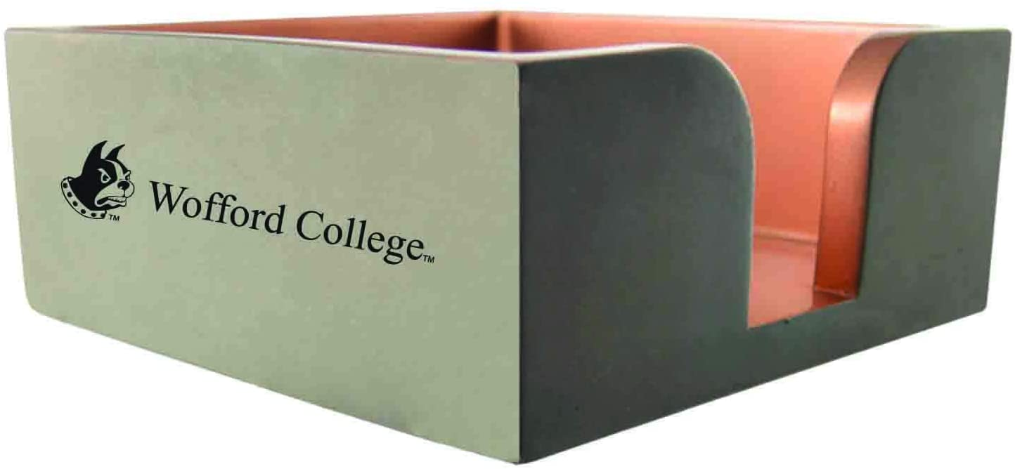 Wofford College-Concrete Note Pad Holder-Grey