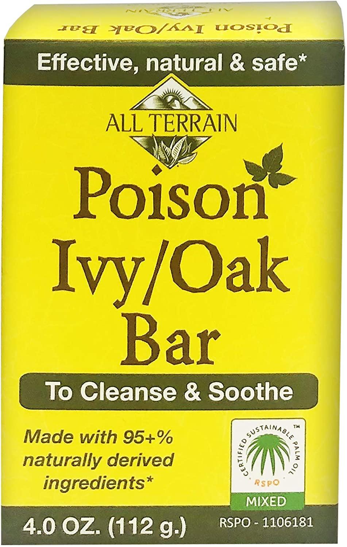 All Terrain All Natural Poison Ivy-oak Bar Soap - 4 Ounce