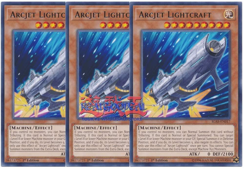 x3 arcjet lightcraft IGAS-EN017 Rare ul