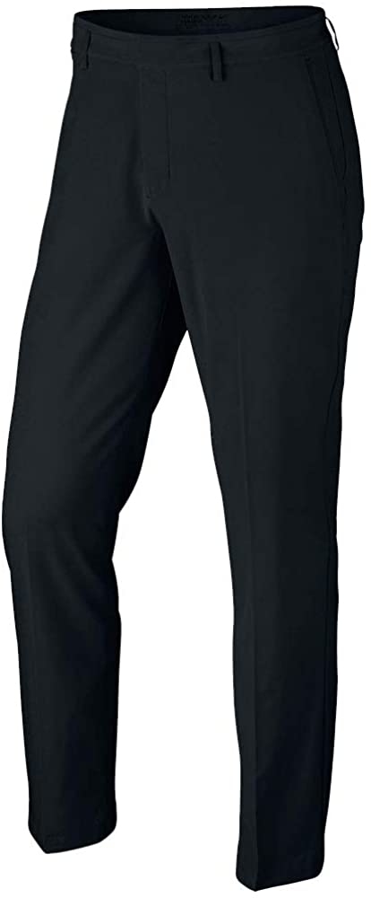 Nike Flat Front Stretch Woven Golf Pants 2017 Black 32/32