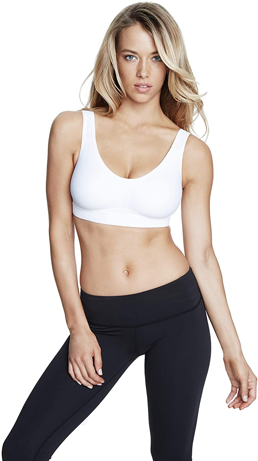 Dominique Soft Support Sports Bra (6000) 38C/White