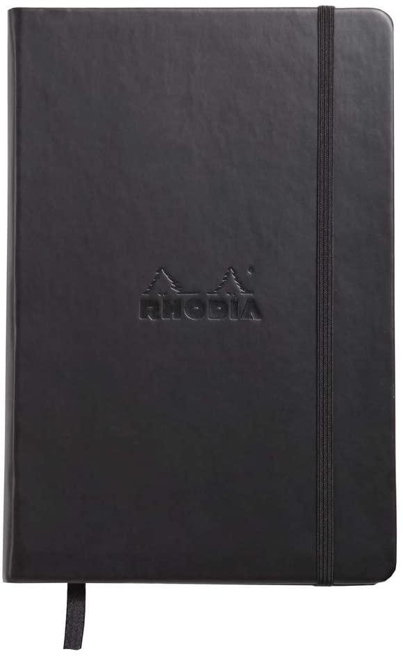 Rhodia A5 Webnotebook, Dot, Black