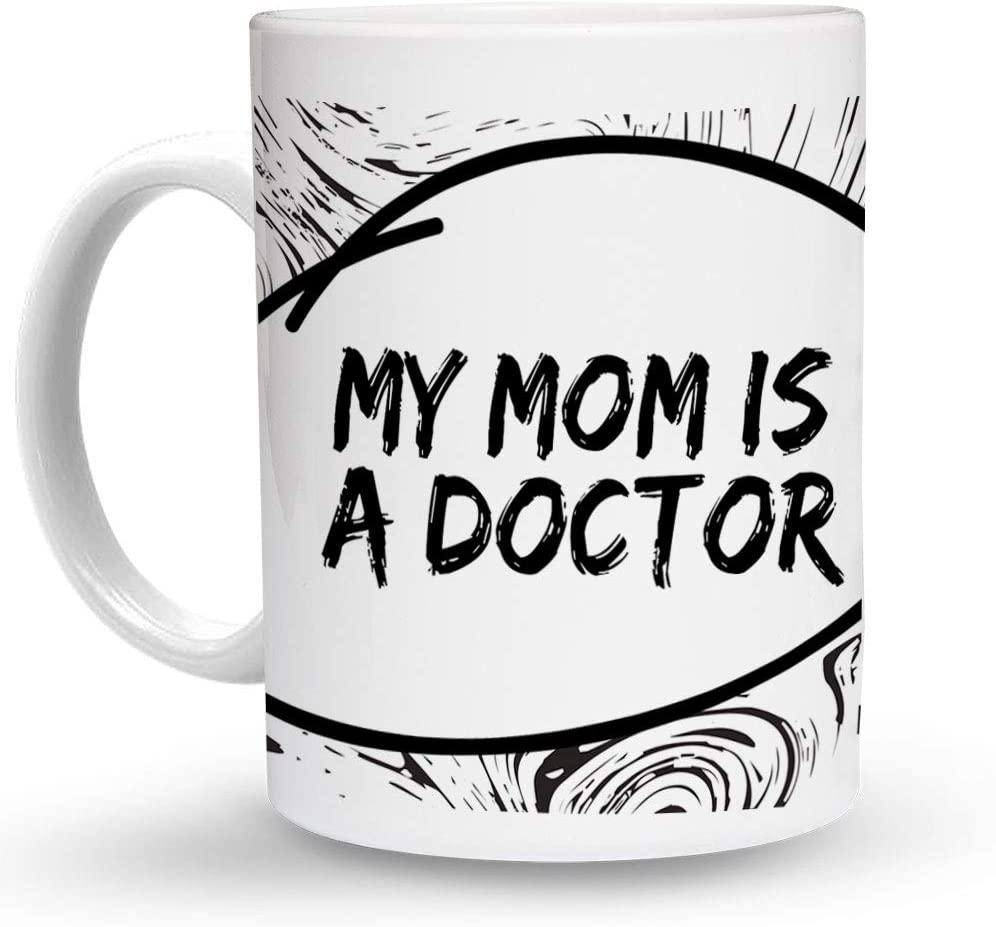 Makoroni - MY MOM IS A DOCTOR Paramedic 6 oz Ceramic Espresso Shot Mug/Cup Design#56