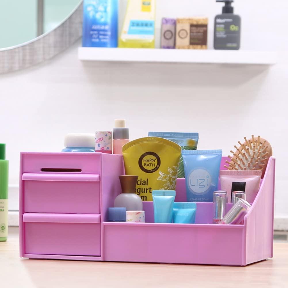 WODESHIJIE Plastic Classical Wedding Pink/Purple/Blue/Green Jewelry Boxes-B