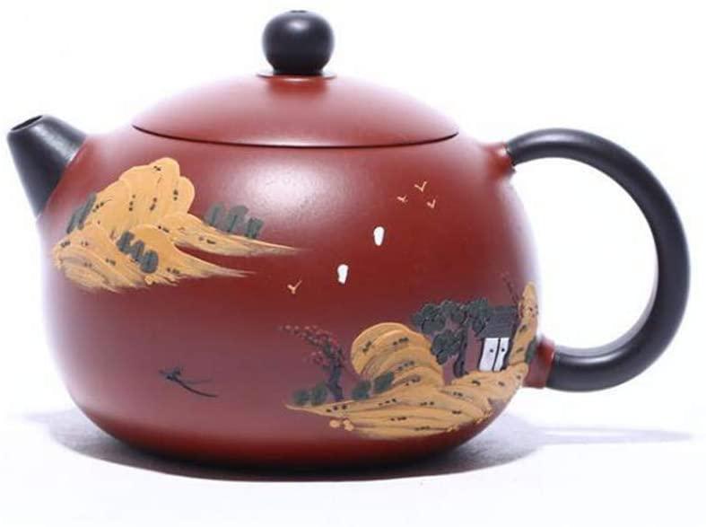 ZGSP Handmade Painted teapot, 230ml