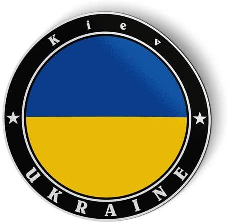 Ukraine Flag - Flexible Magnet - Car Fridge Locker - 3