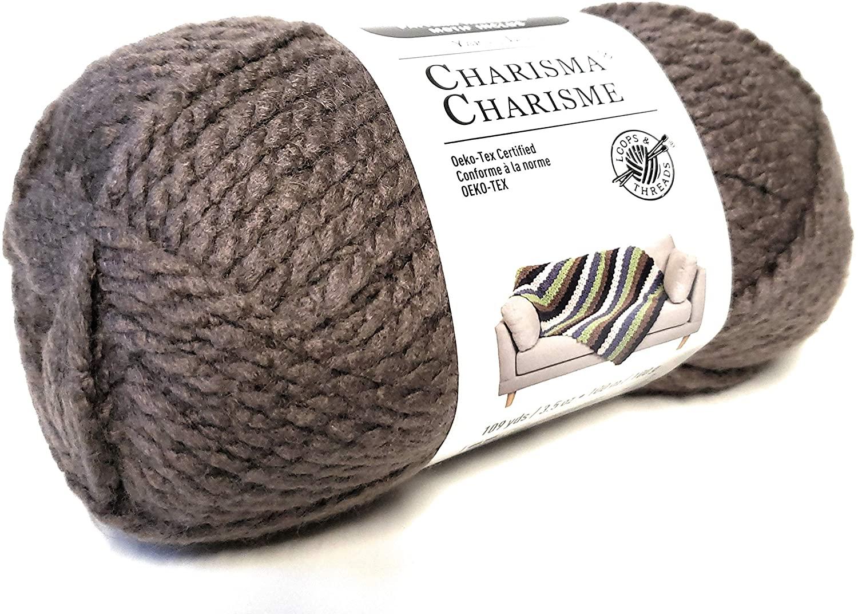 Loops & Threads Charisma Yarn (Pecan)