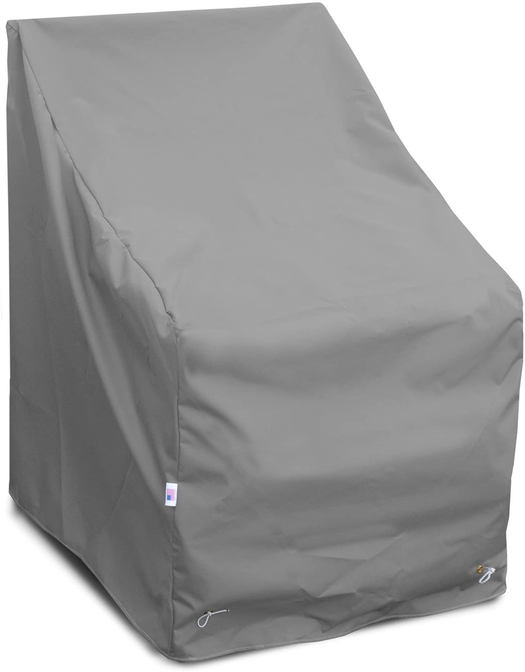 KoverRoos Weathermax 84222 High Back Chair Cover, 32-Inch Width by 37-Inch Diameter by 39-Inch Height, Large Charcoal