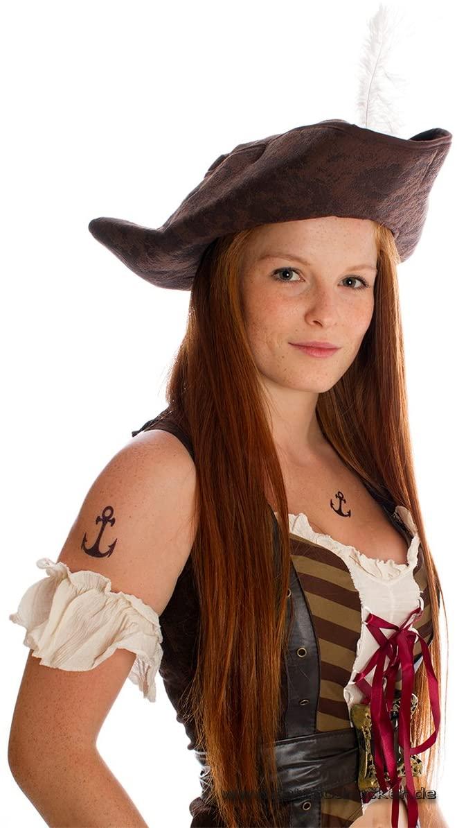 15 x Anchor Tattoo - Pirates Tattoo - Carnival Sailor Fake Temporary Tattoo (15)