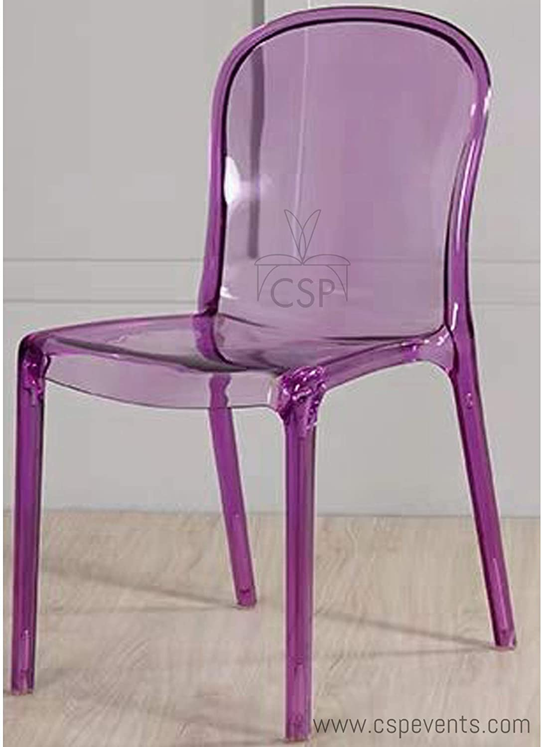 Commerical Seating Products Purple Genoa Chairs