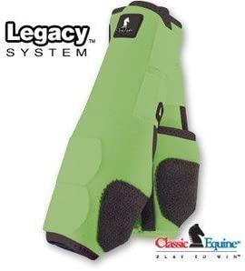 Classic Legacy SMB Sports Medicine Boots Lime Medium Front
