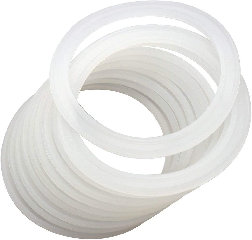 70mm Sealing Ring Silicone Solar Water Heaters Coil Vacuum Tube