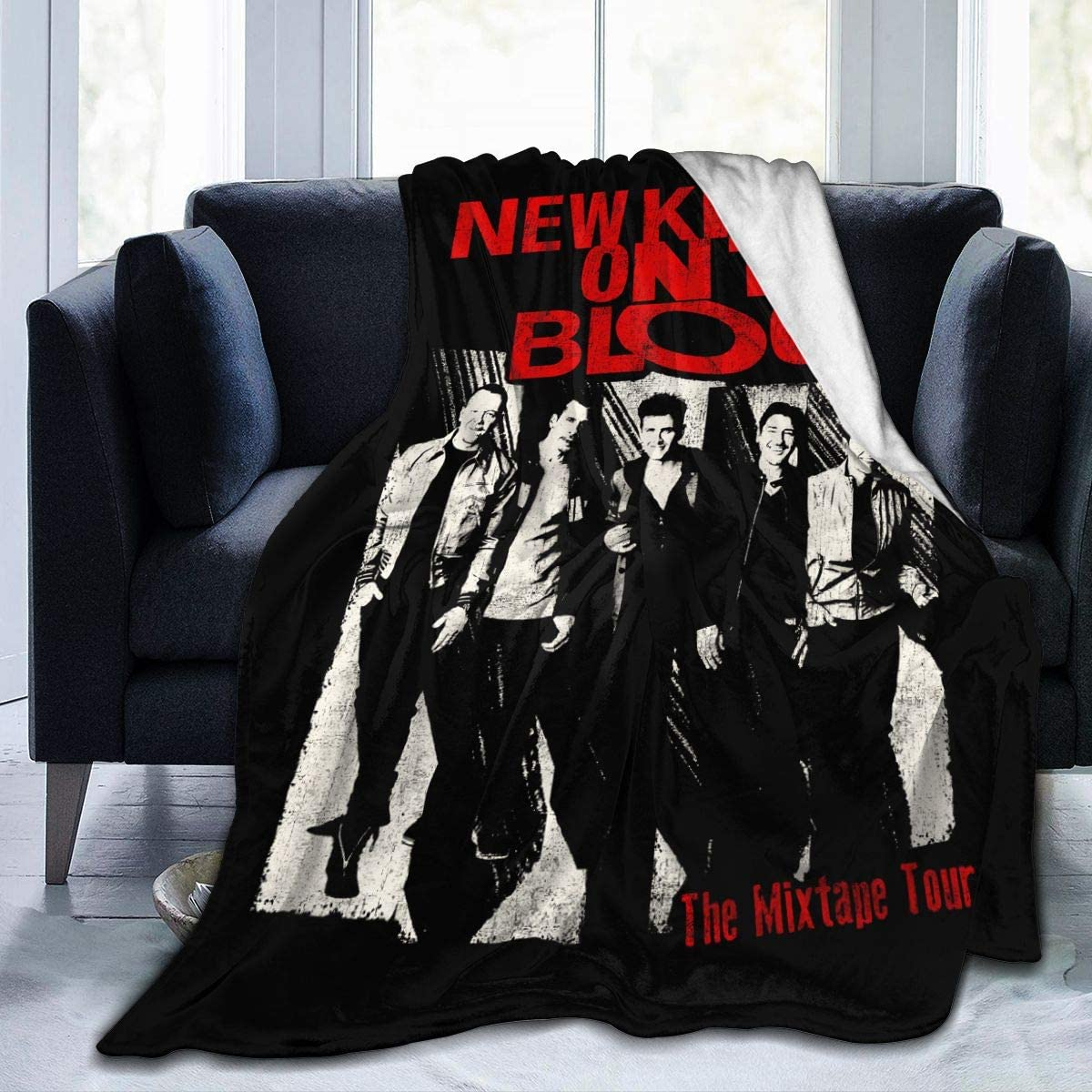 MaMing New Kids On The Block New Soft Blanket Winter Quilt Home Lightweight Blanket Men Women 50