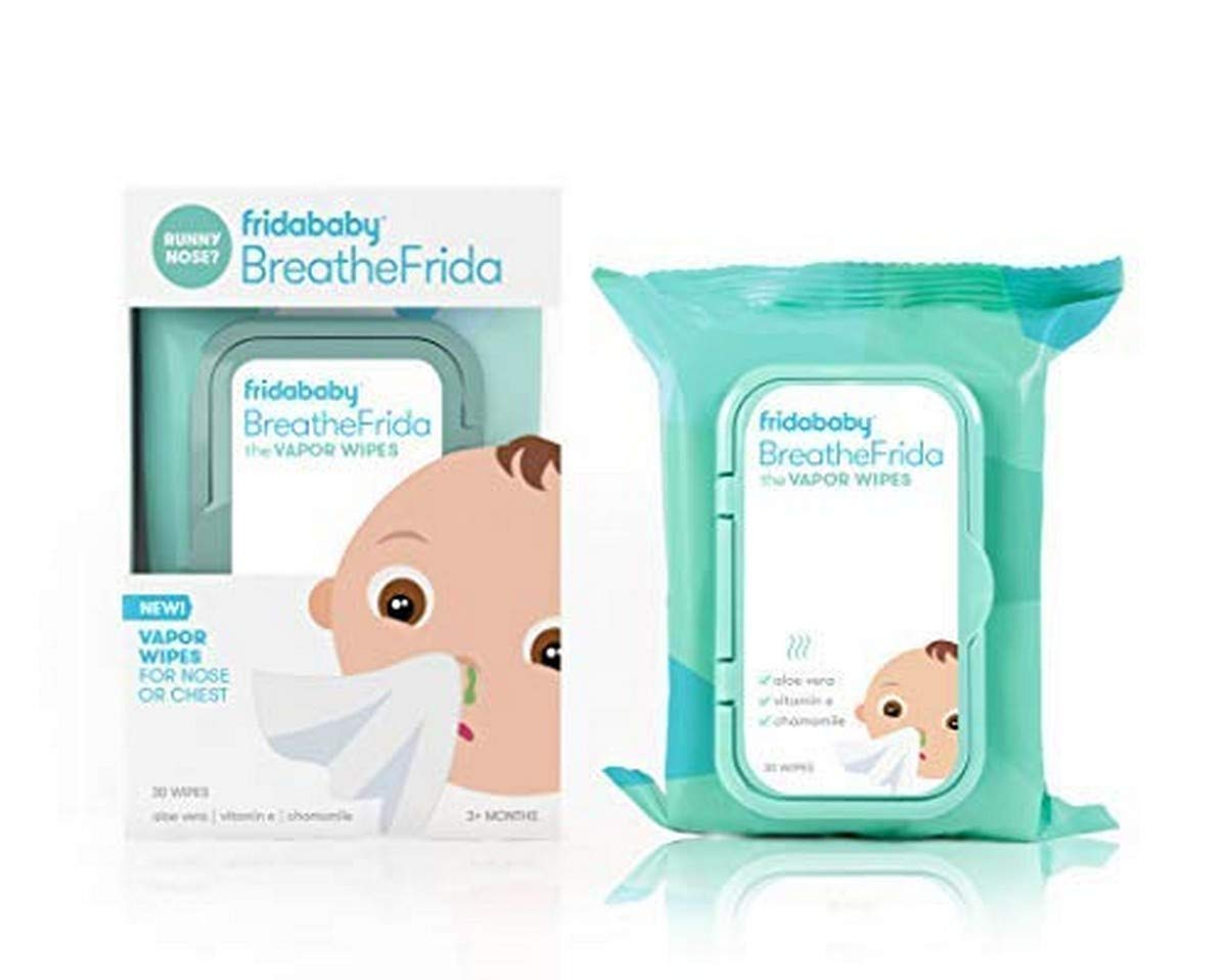 Breathefrida Vapor Wipes for Nose or Chest (6 Pack) by Frida Baby
