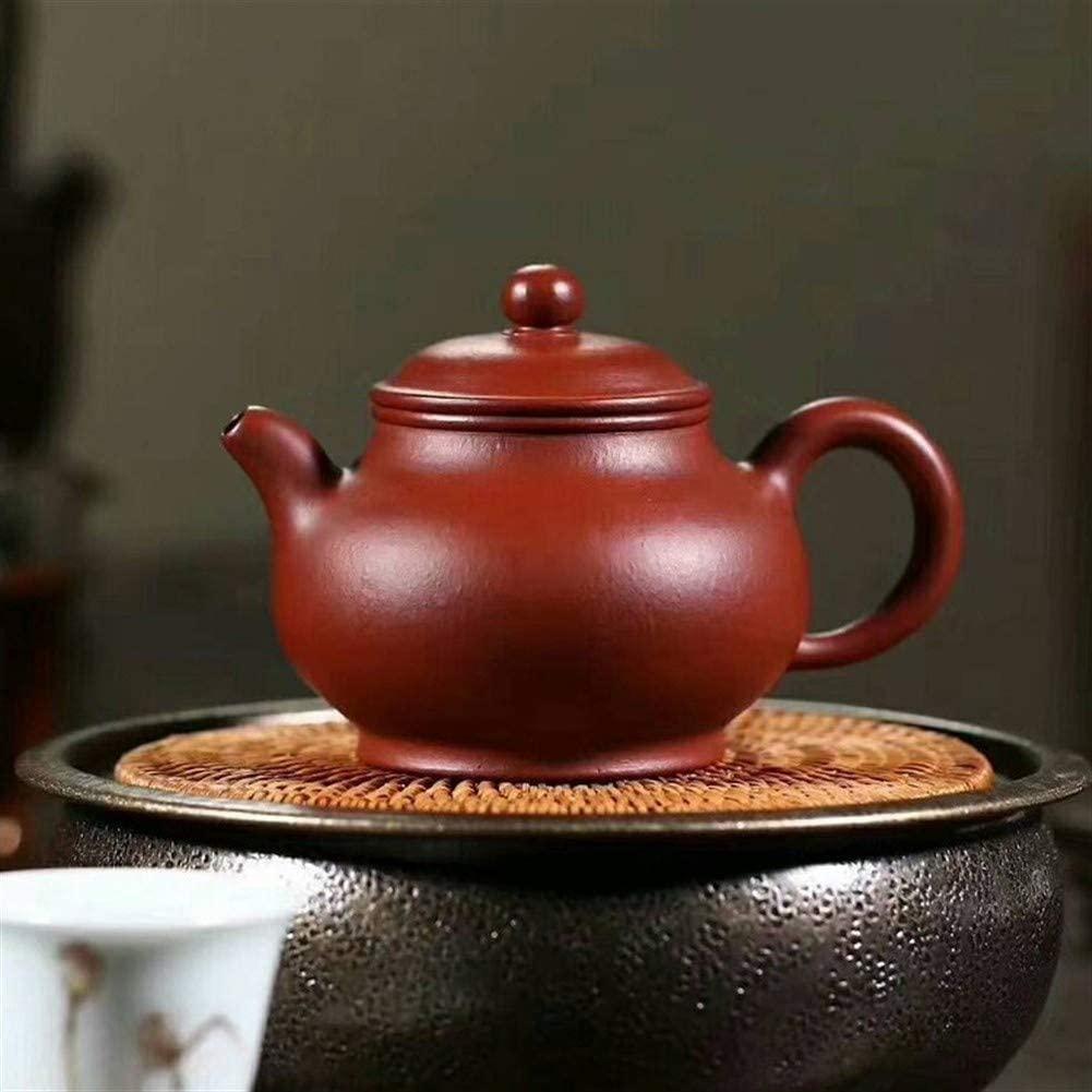QinMei Zhou Hand- teapot teapot ore famous Big Red Pan pot teapot (Color : Purple mud)