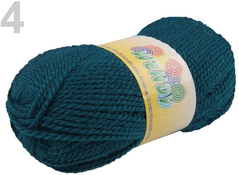 1pc (3812) Alpine Green Knitting Yarn 100g Elian Wendy, Knitting, Crochet, Embroidery, Haberdashery