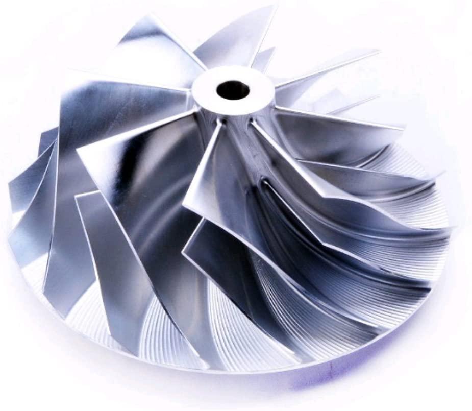 Billet Compressor Wheel KKK BorgWarner K24 5324-123-2019(58/75) 8+8 blade