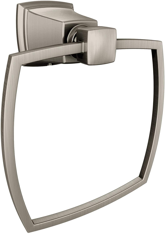 MOEN/FAUCETS Y3286BN Boardwalk Brushed Nickel Towel Ring