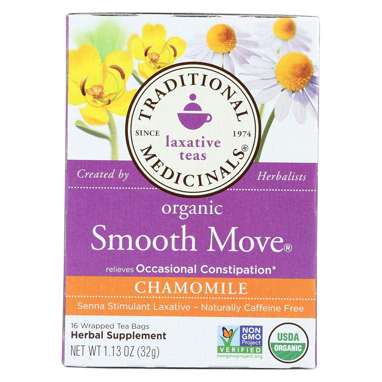 Traditional Medicinals Tea Smooth Move Chmmle