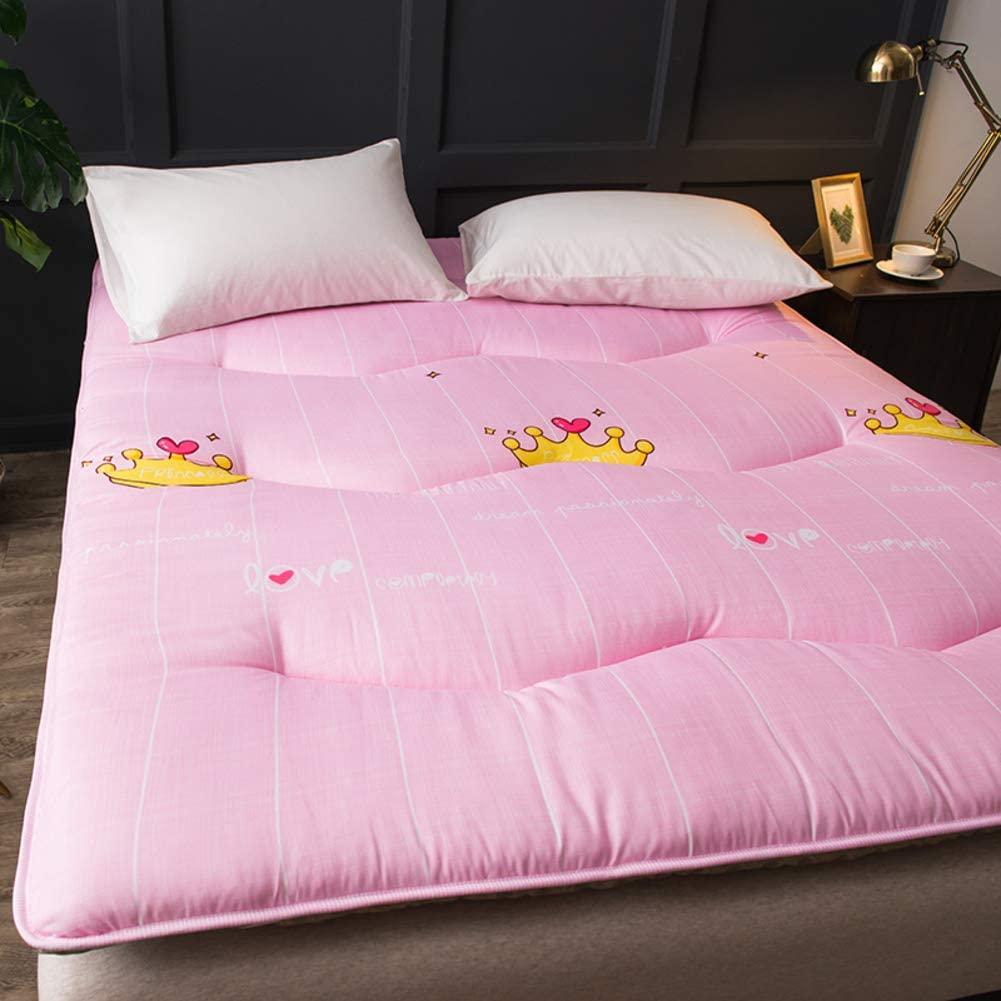 HOMRanger Tatami Upholstered Mattress,Breathable Foldable Floor Mattress Thin and Flexible Futon Mat Bed Mattress Body Positioners Mattress Pad-i 150x200cm(59x79inch)