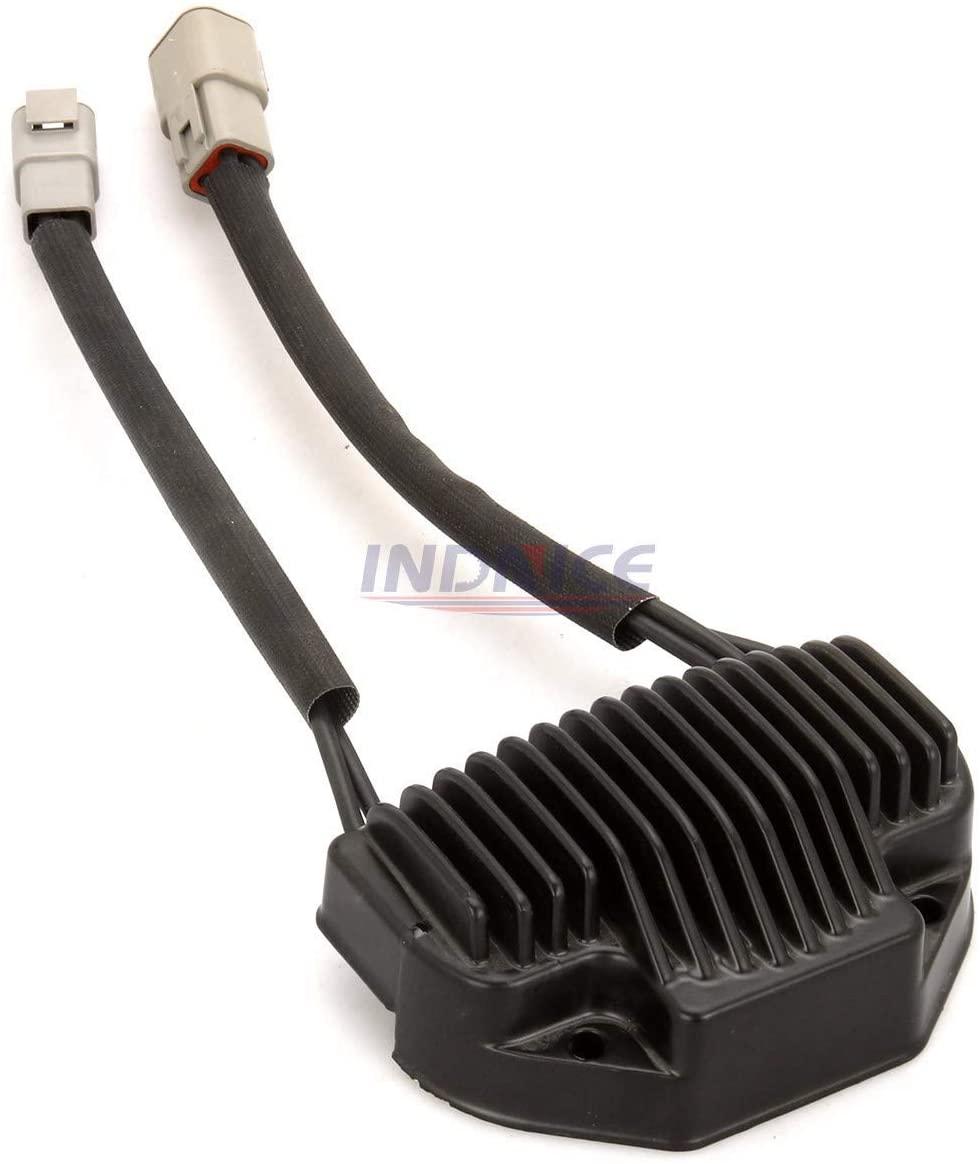 INDNICE 74631-06 voltage regulator rectifier for Harley FXDL/Dyna Low Rider 2006-2007 voltage rectifier FXDWG/Dyna Wide Glide Black