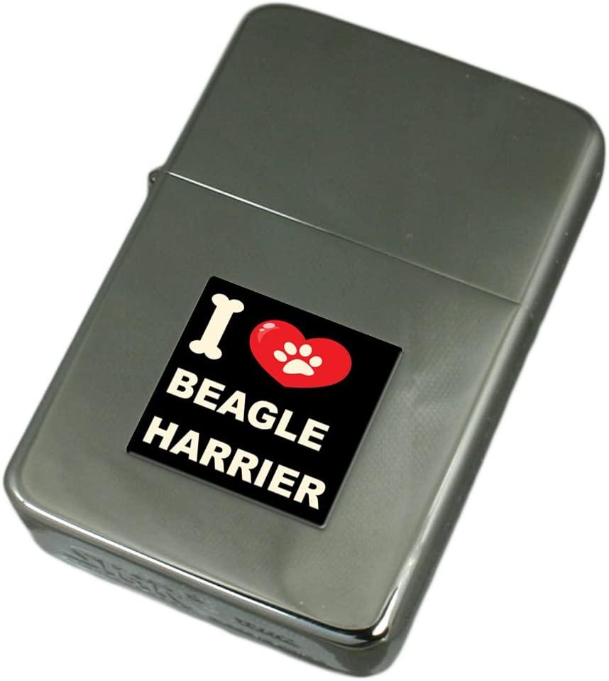 I Love My Dog Engraved Lighter Beagle-Harrier