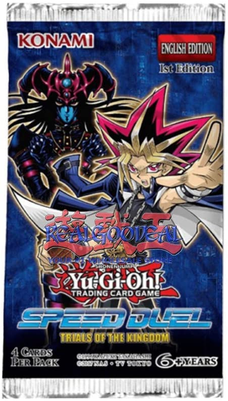 YuGiOh Speed Duel Trials of The Kingdom Booster Pack