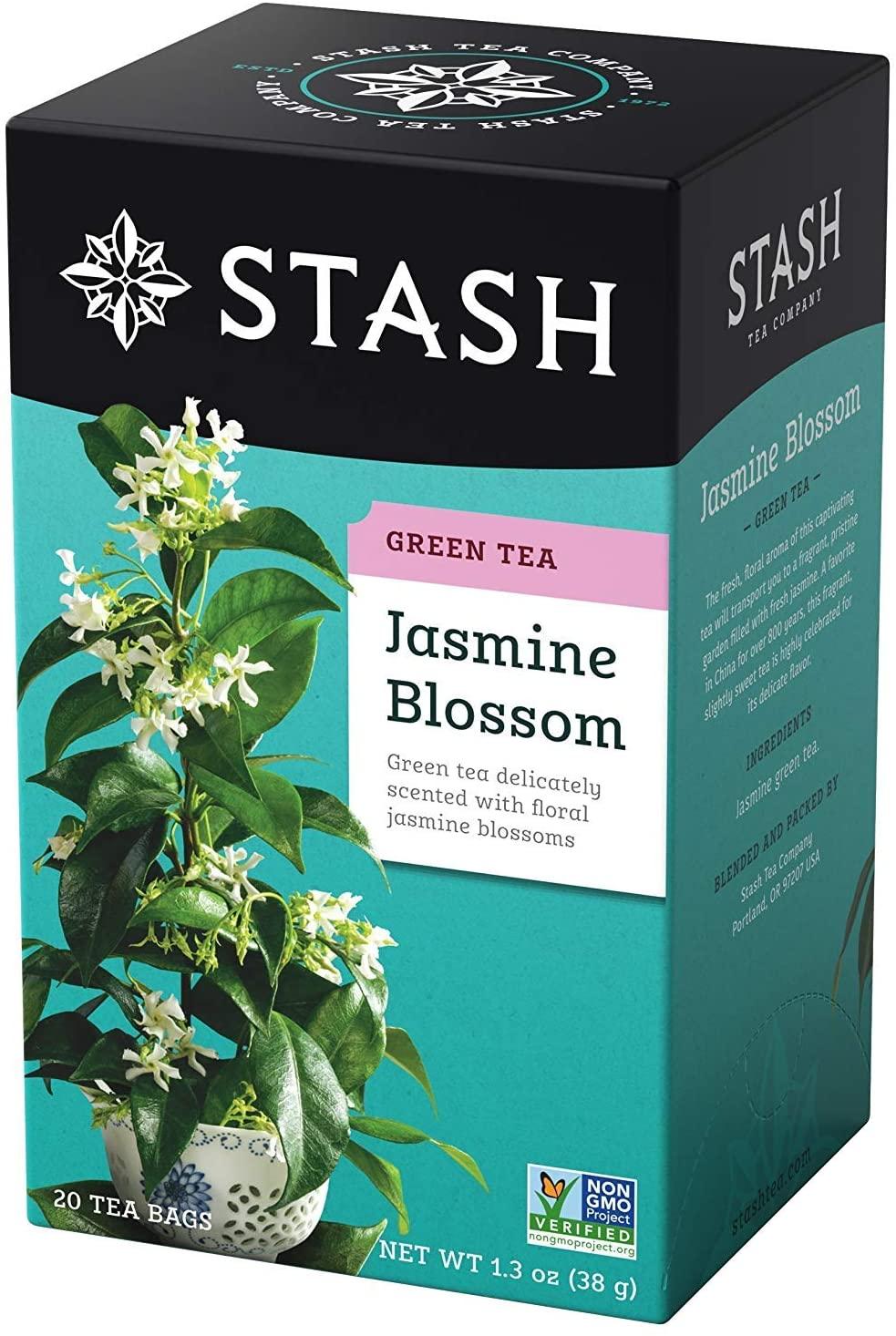 Stash Premium Green Tea Jasmine Blossom - 18 Tea Bags