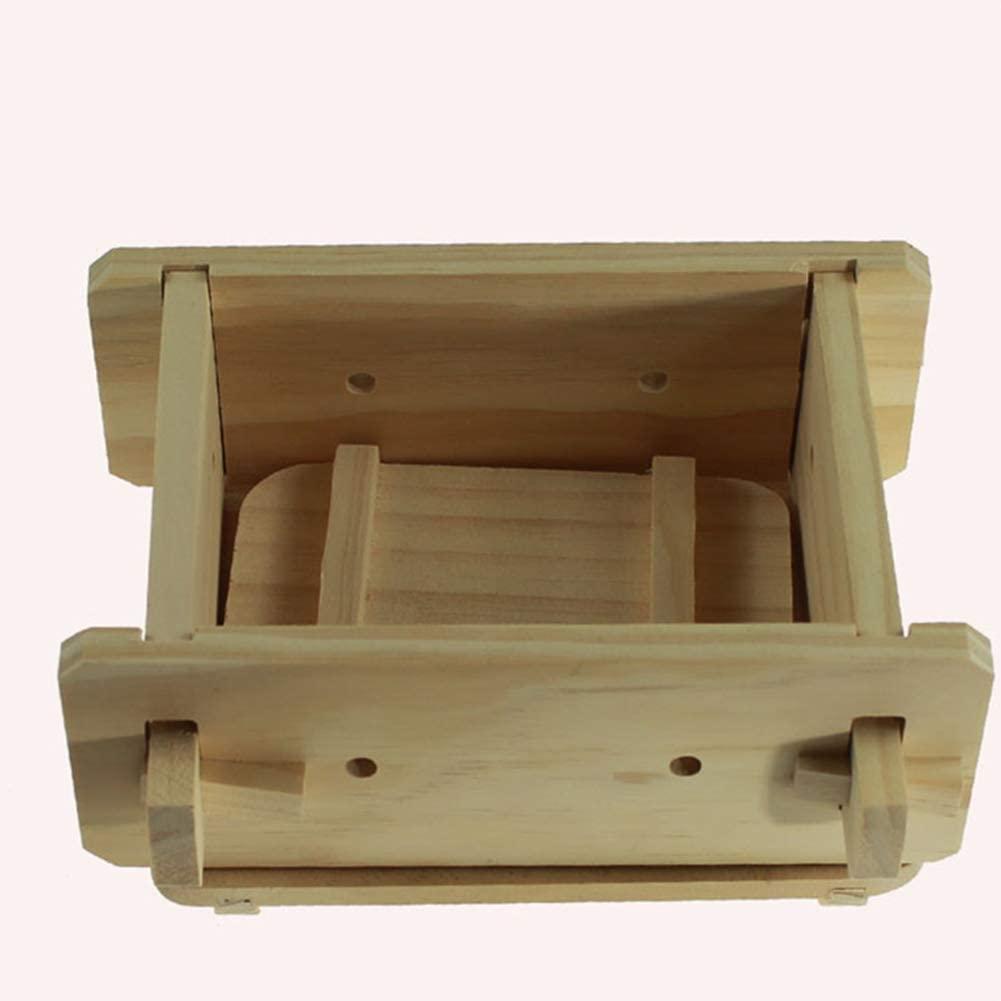 Tofu Maker Press Mold, Wooden Homemade Tofu Press-Maker Mold Box Plastic Soybean Curd Making Machine, Soybean Curd Making Mould Accessories