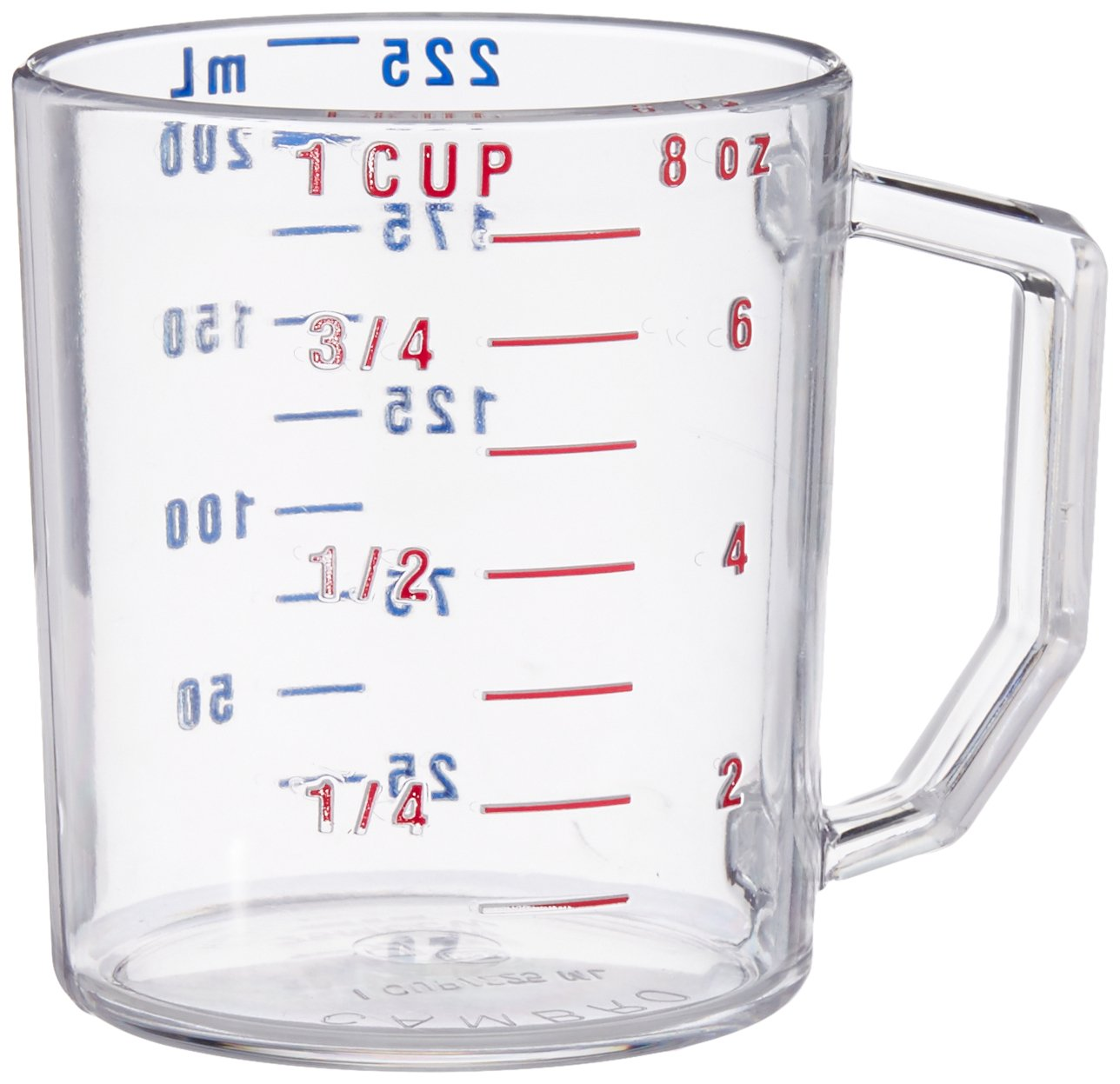Cambro Measure Cup 1 Cup Clear (25MCCW135)