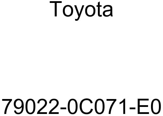 TOYOTA Genuine 79022-0C071-E0 Seat Cushion Cover Sub Assembly